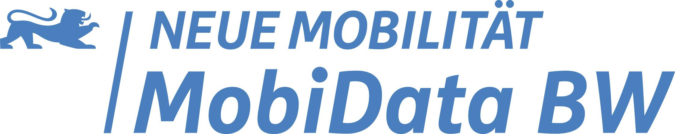 Logo Neue Mobilität MobiData BW